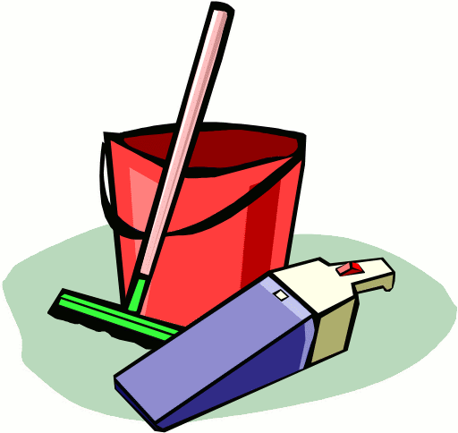 chores clipart clear table