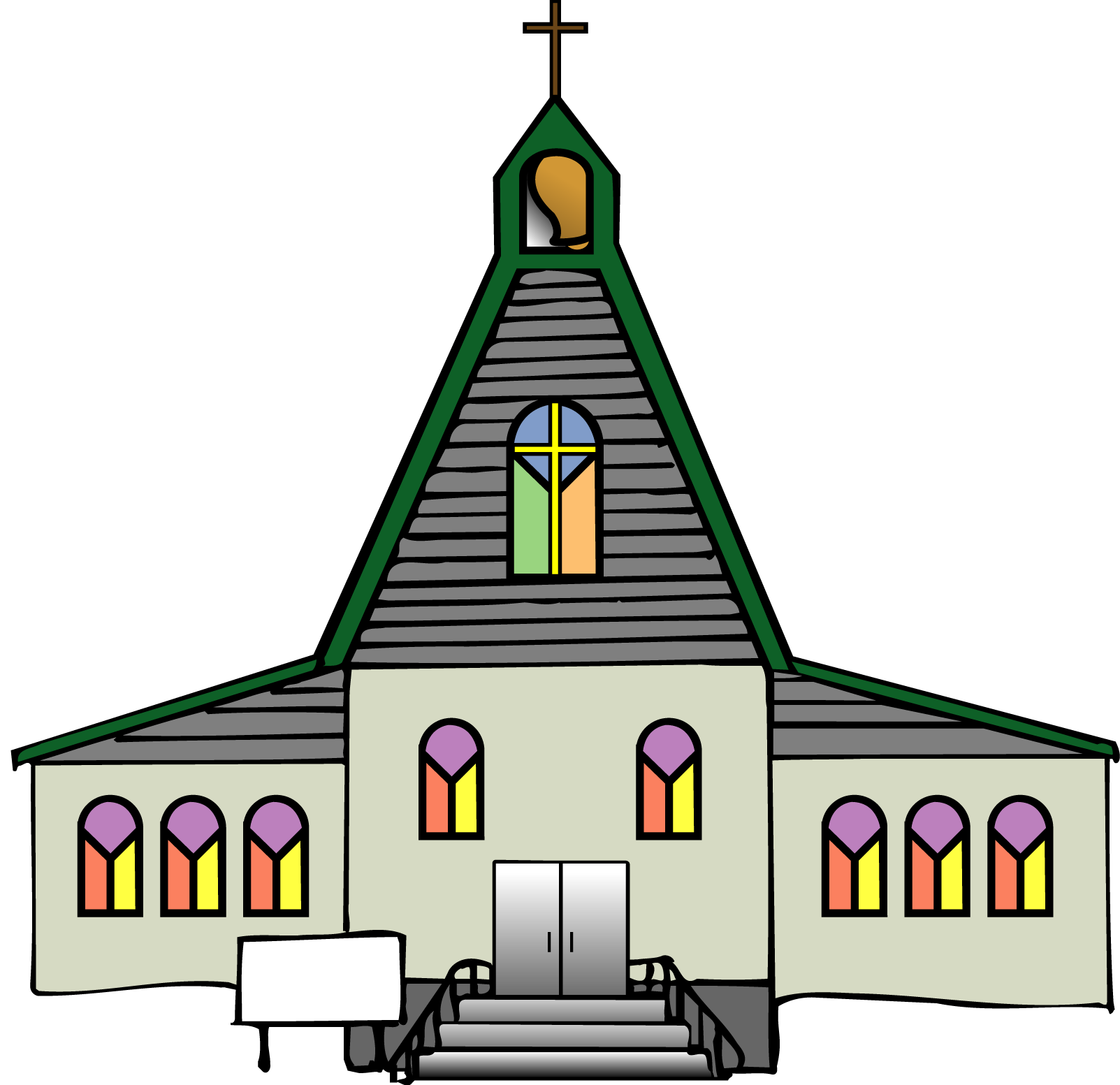 Hd transparent images pluspng. Christian church png clip black and white