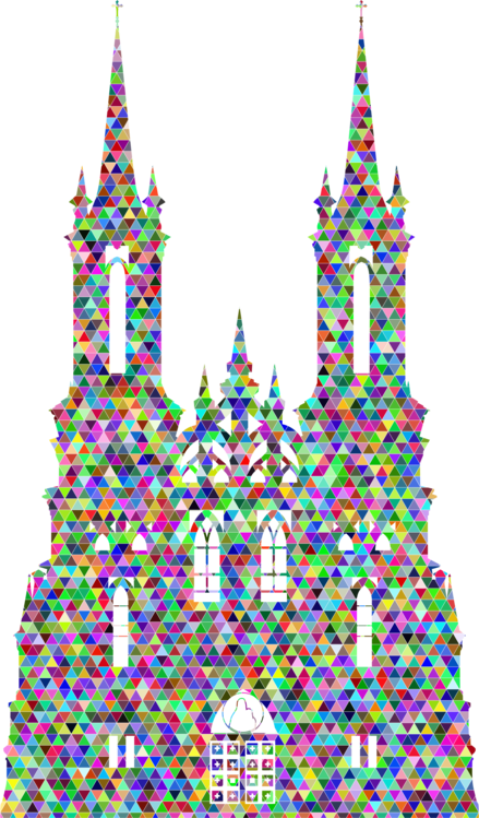 Catholic drawing gothic church. Catholicism silhouette christian free