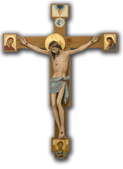 Jesus on the cross png. Christian transparent images all