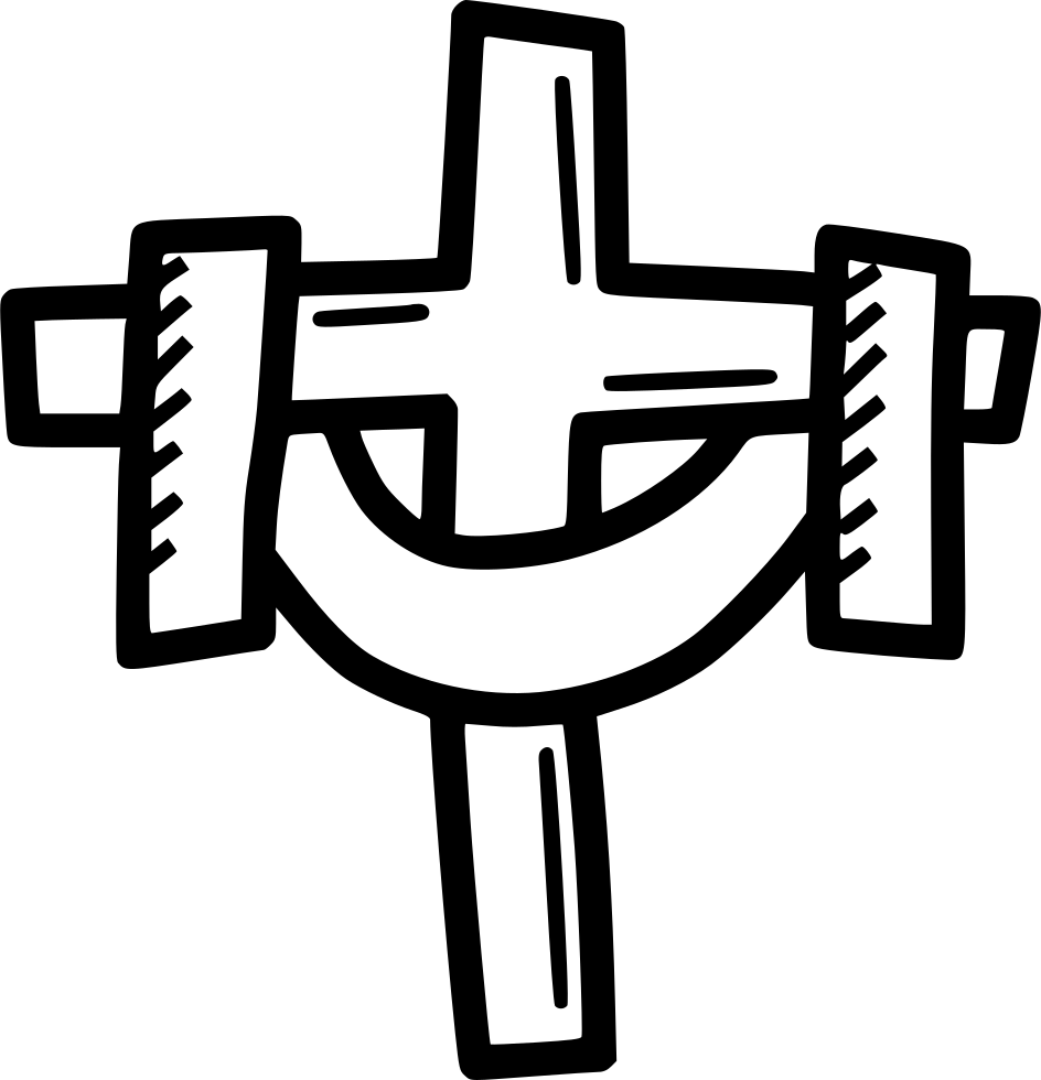Christian svg. Cross holy tradition post