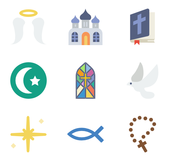 Christian vector christianity. Icons free religion