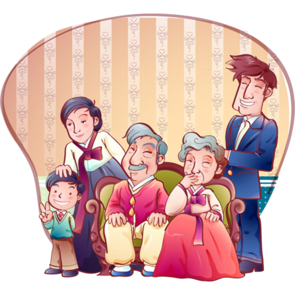 Homes vector happy family. Personnages illustration individu personne