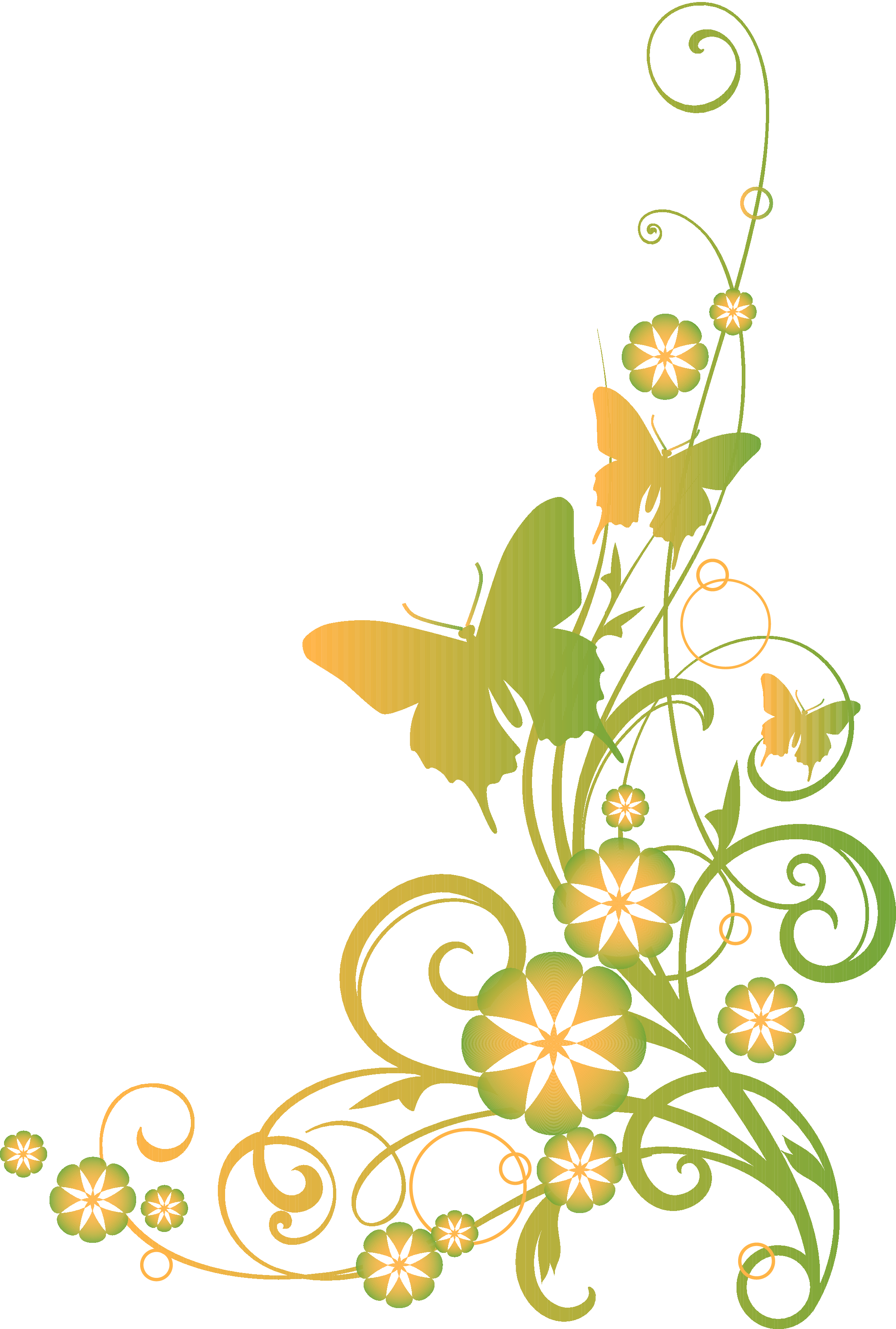 Christian vector flower. Religious clip art vines