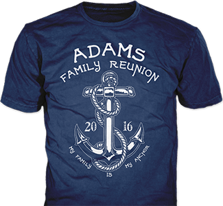 Christian vector t shirt design. Family reunion ideas from
