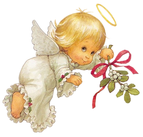 Christmas angel png. Cute free clipart picture