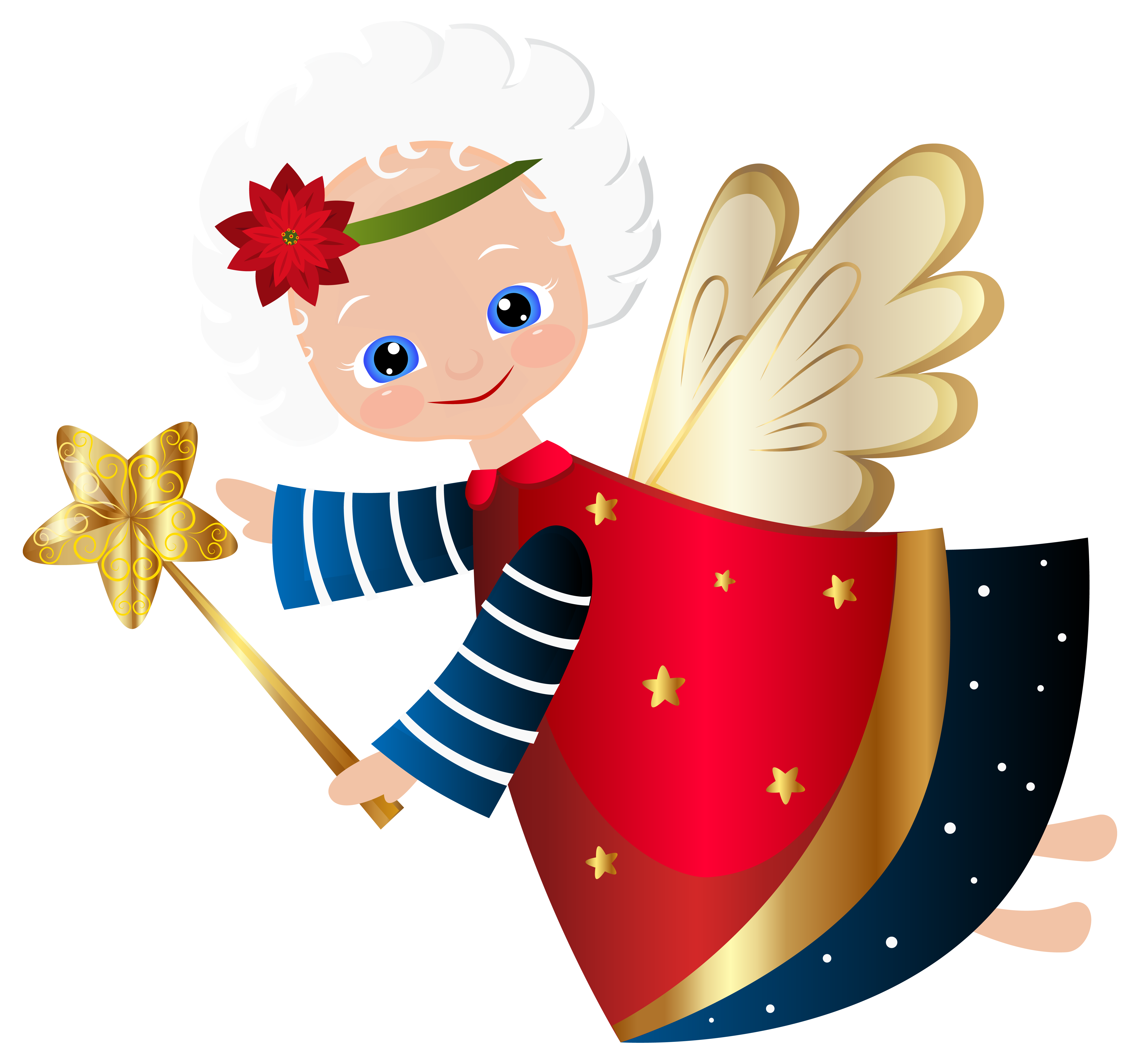 Rudolph vector christmas angel. Cute transparent png clip