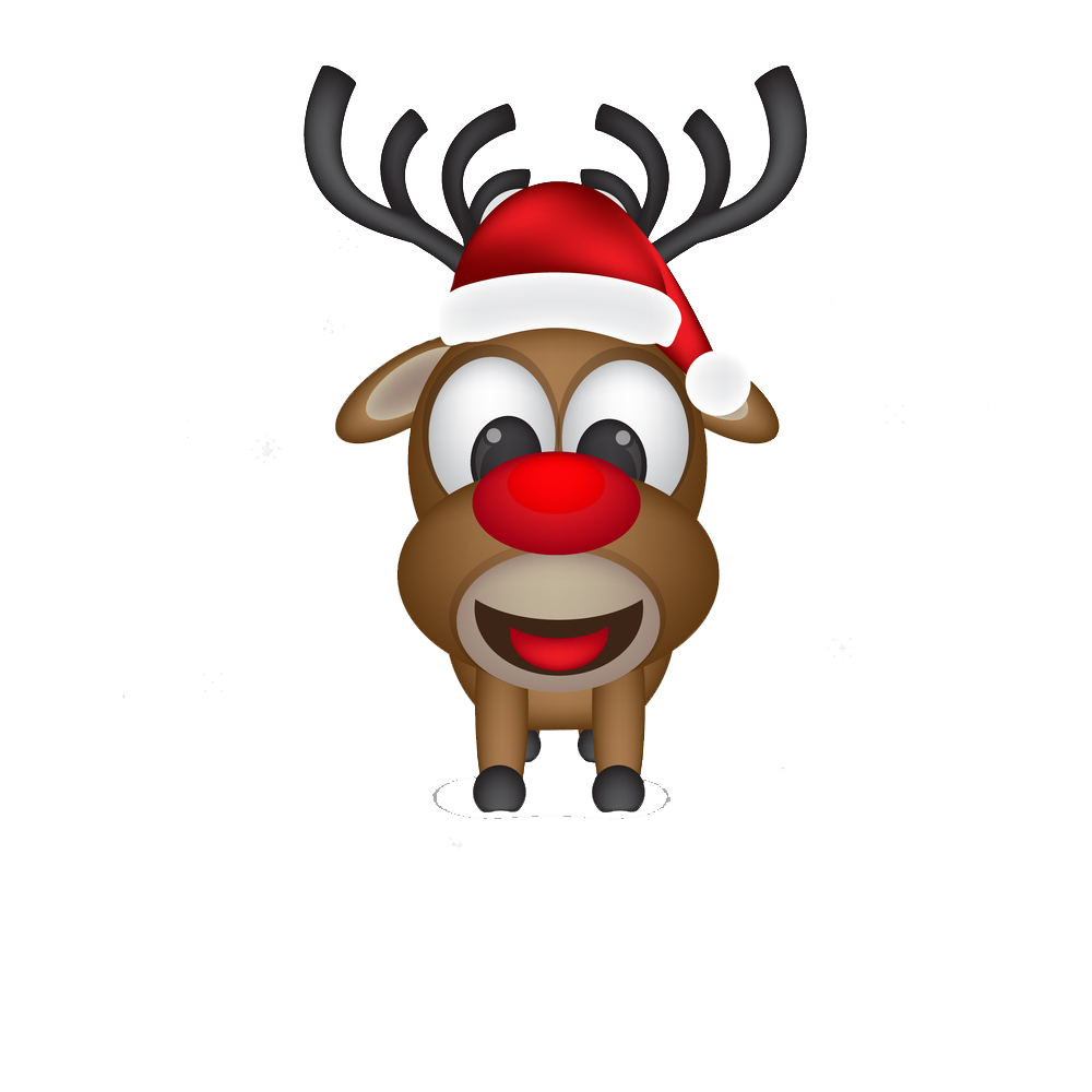 Christmas antlers png. Dear vector clipart psd