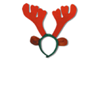 Christmas antlers png. Support campaign twibbon