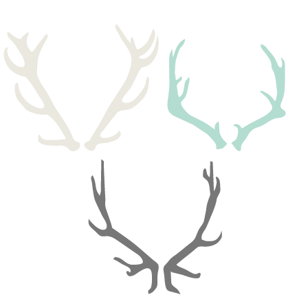 Christmas antlers png. Antler set svg cutting
