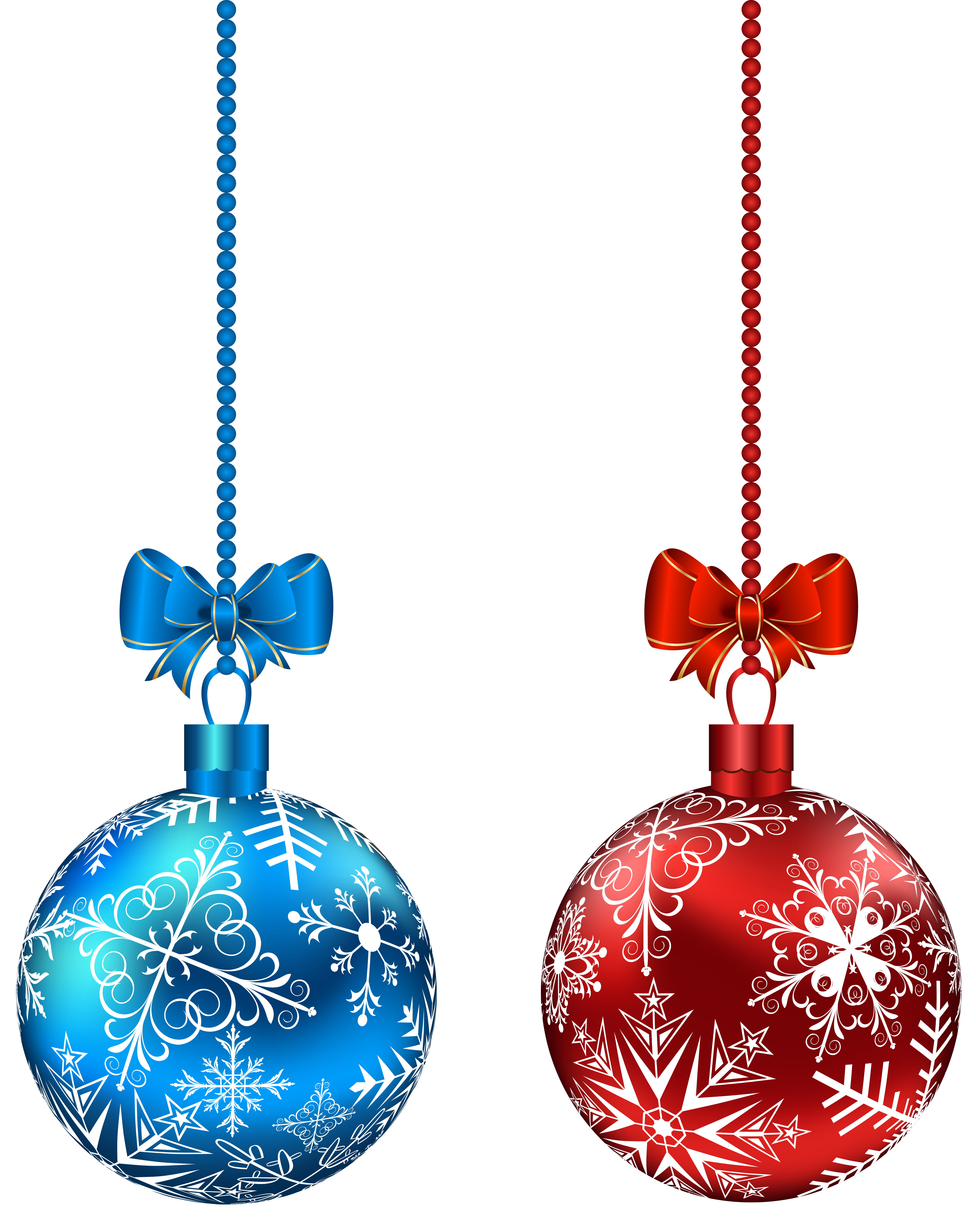 Transparent hanging christmas ornaments png. Ball clipart at getdrawings