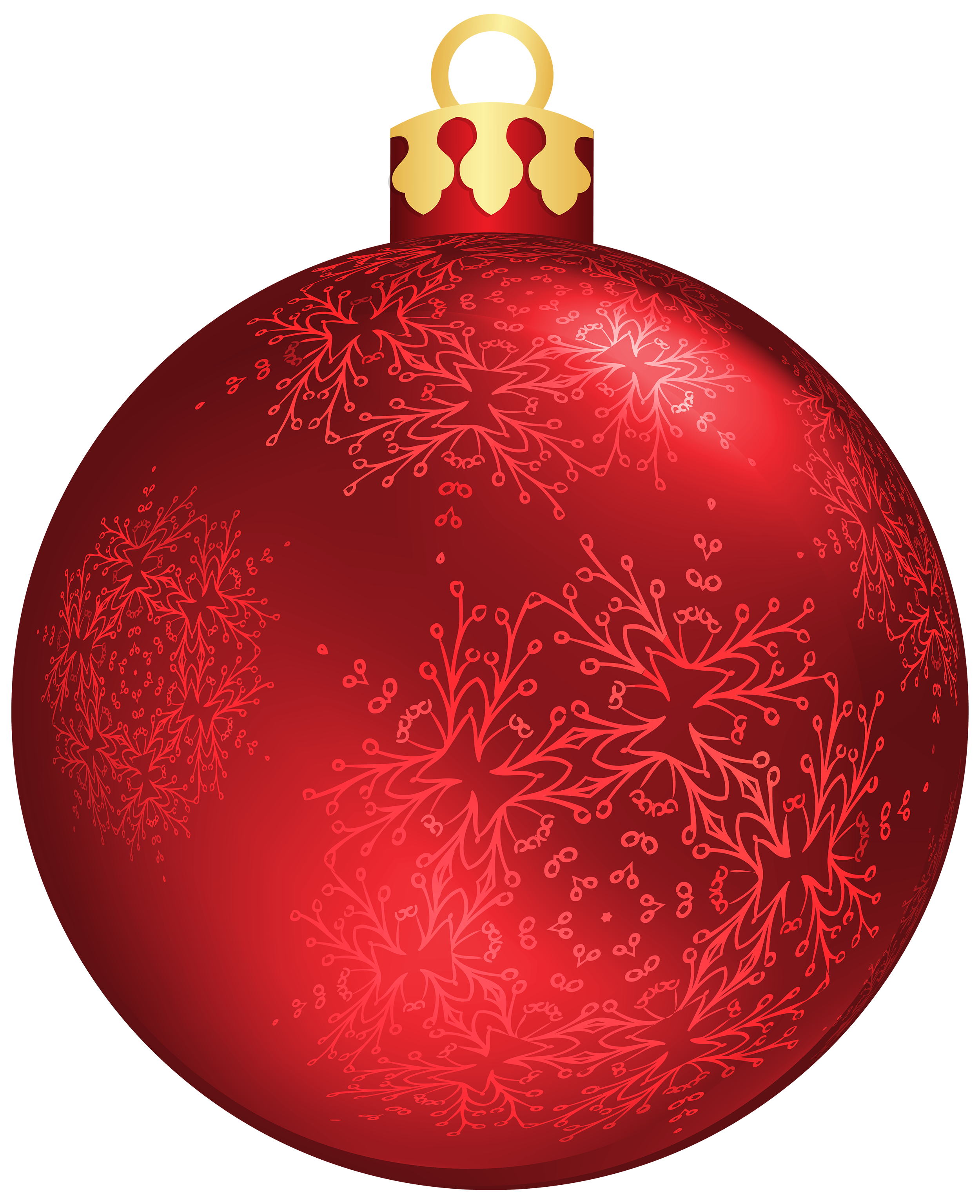 Christmas ball png. Red clipart best web