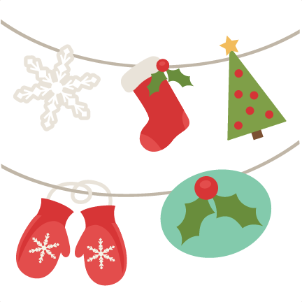 Christmas banner png. Svg cutting files free