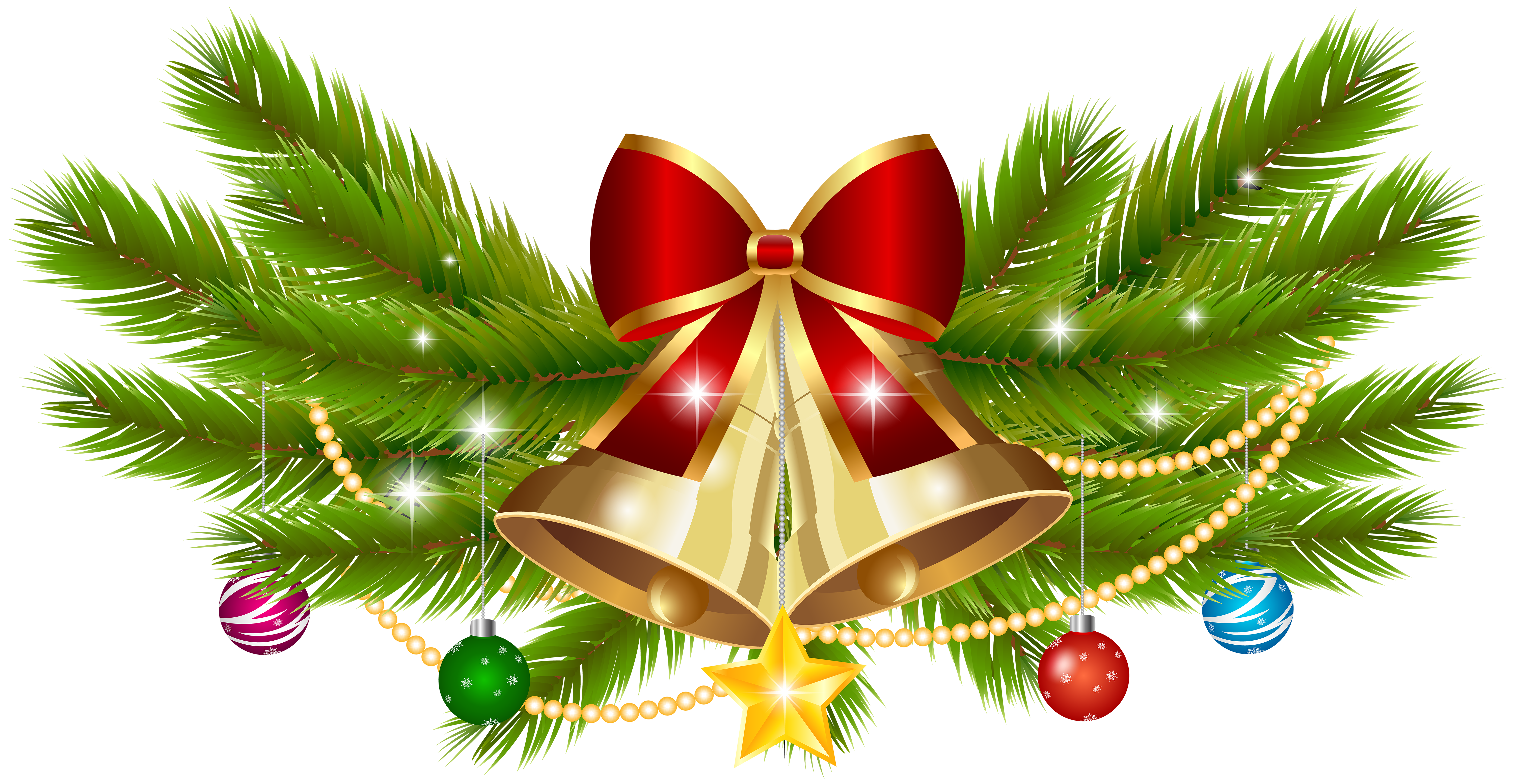 Christmas Bells Clipart.Christmas Bell Transparent Png Clipart Free Download Ywd