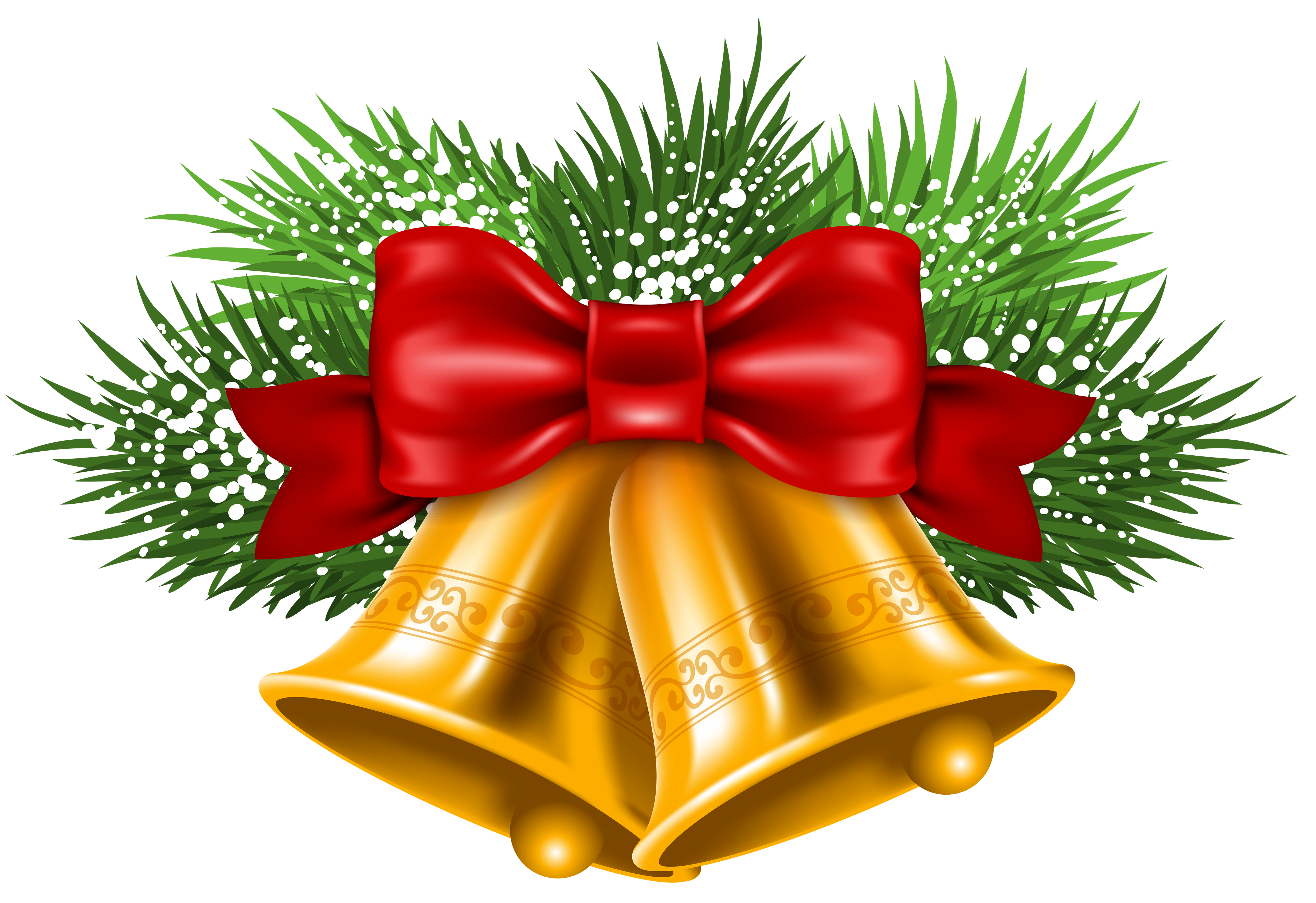 Christmas bell png. Transparent free images only