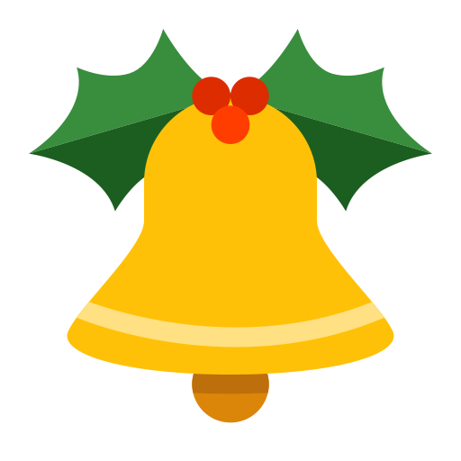 Christmas Bell Vector Transparent Png Clipart Free