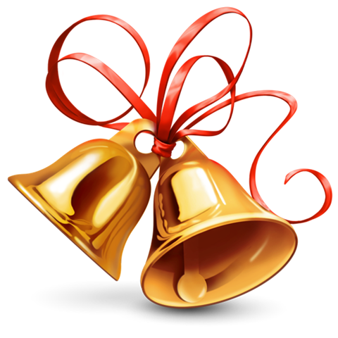 Christmas bell vector png. Bells by selenator on