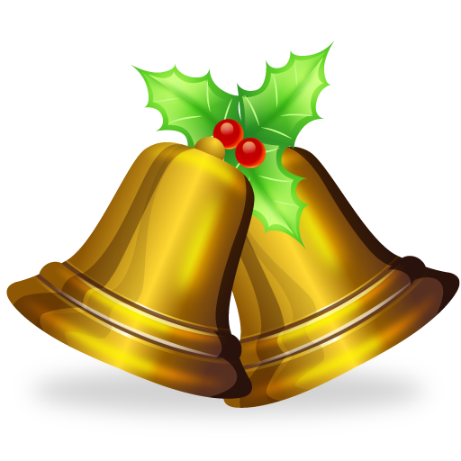 Christmas bell vector png. Stunning icons by iconshock