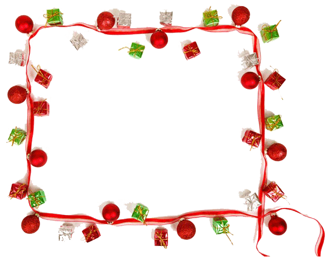 Christmas border png. Picture mart