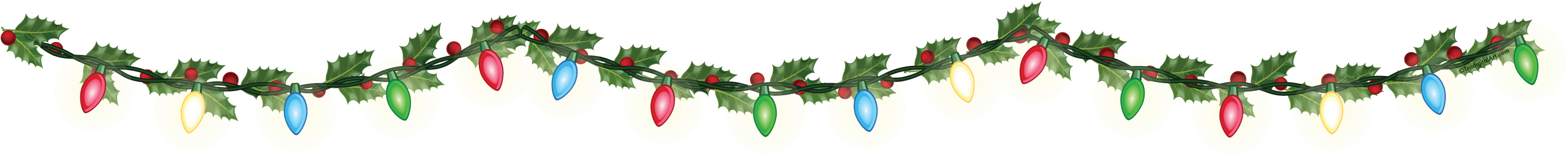 Christmas border .png. Lights png transparent images
