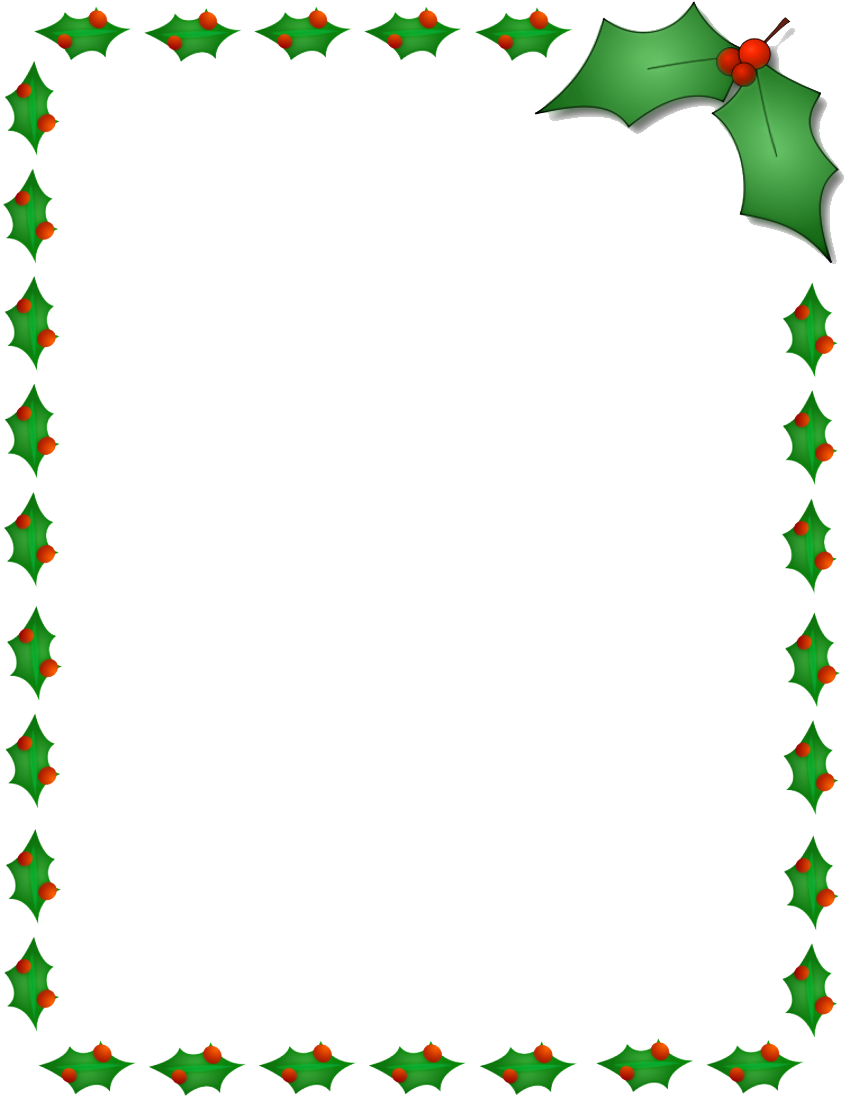 Christmas border png. Photos mart