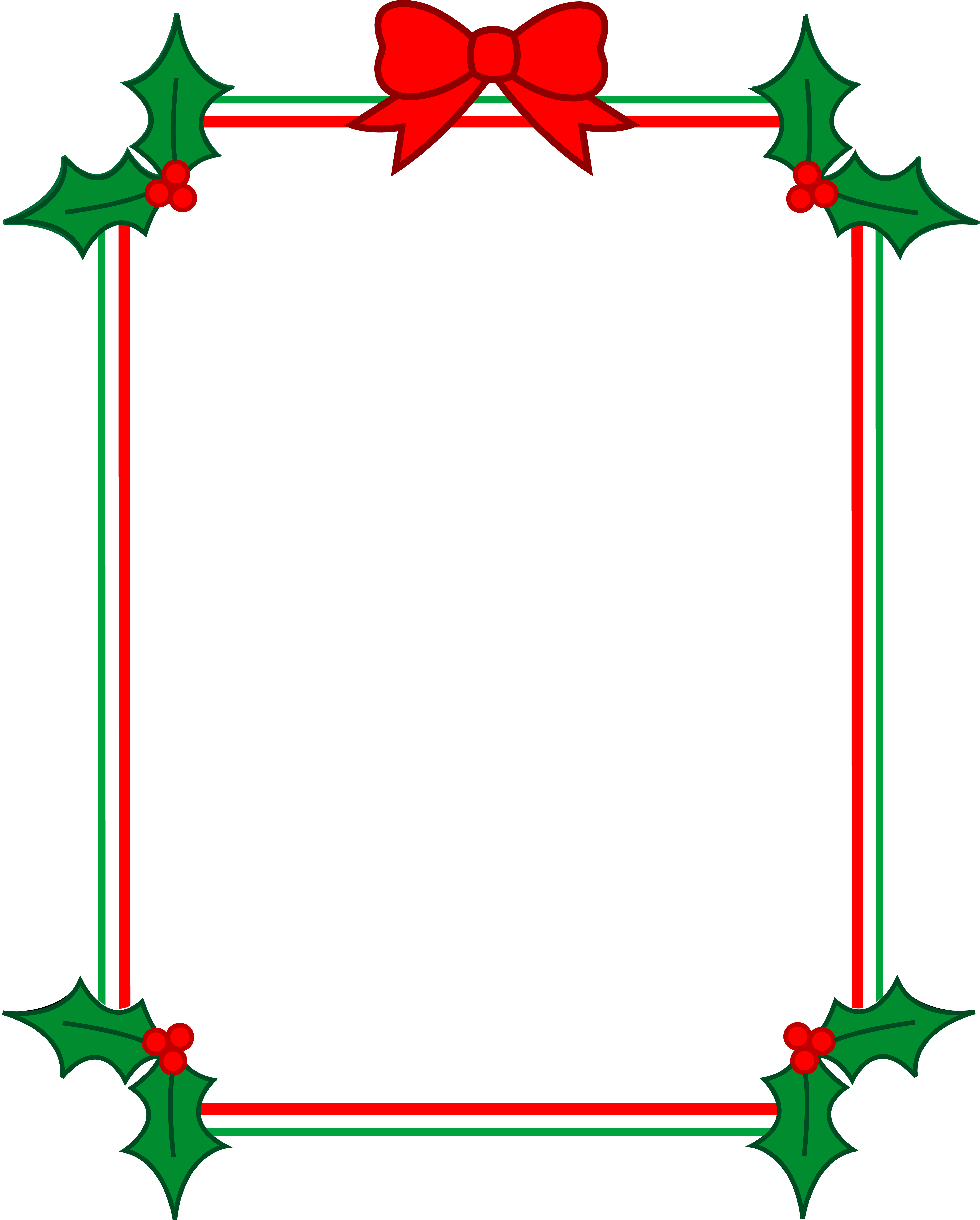 Christmas borders png. Border for word document