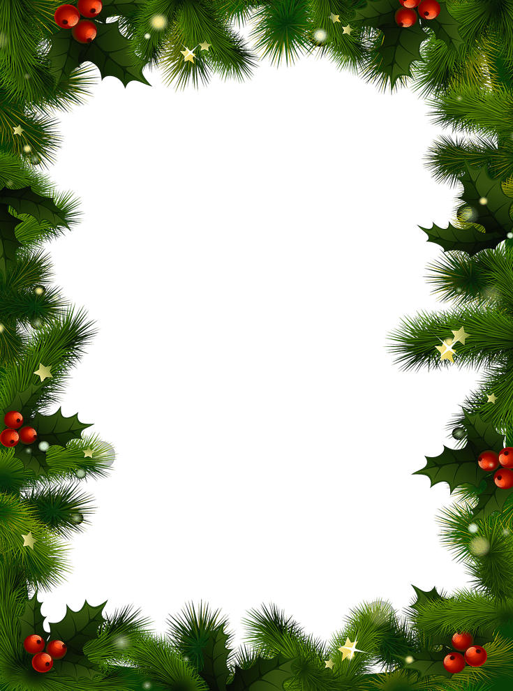 Free christmas photo frames and borders png. You can download