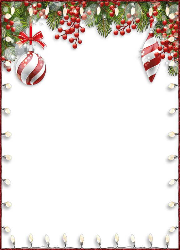 Christmas card borders png. R wbaubles fecnikek scrapbooking