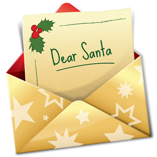 Christmas card png. Letter icon free icons
