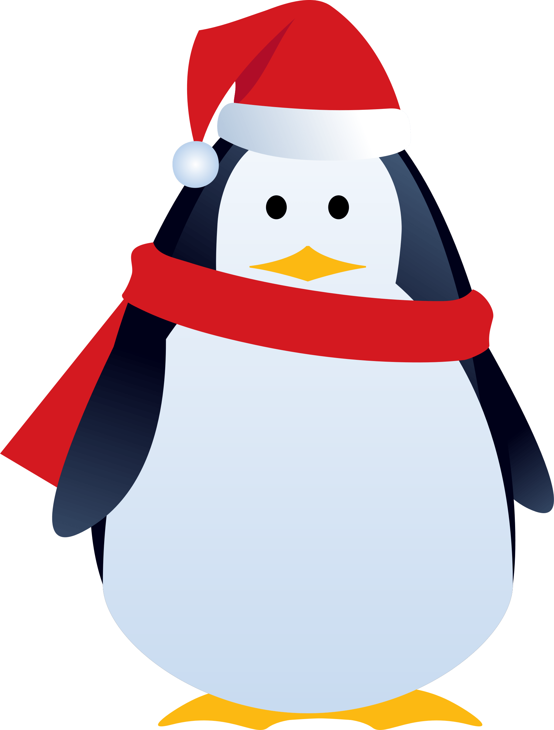 Penguin png christmas