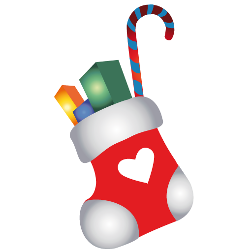 Christmas cartoon png. Stocking icon iconset mohsen