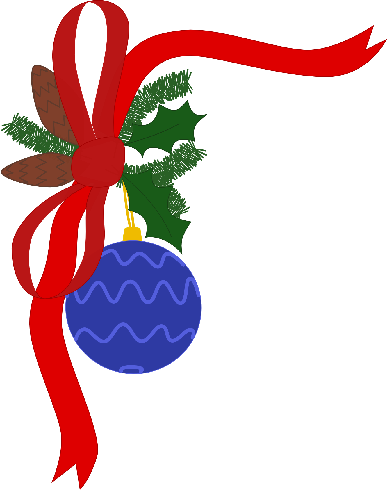 Christmas clip art borders png. Download clipart holiday x