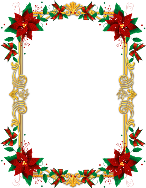 Christmas border png. Transparent images frame with
