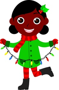 Christmas clipart african american.