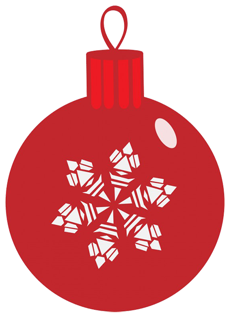 Christmas clipart bauble. Free clip art red