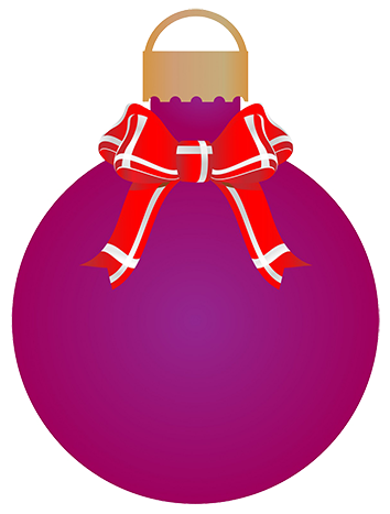Christmas clipart bauble. Free clip art silver