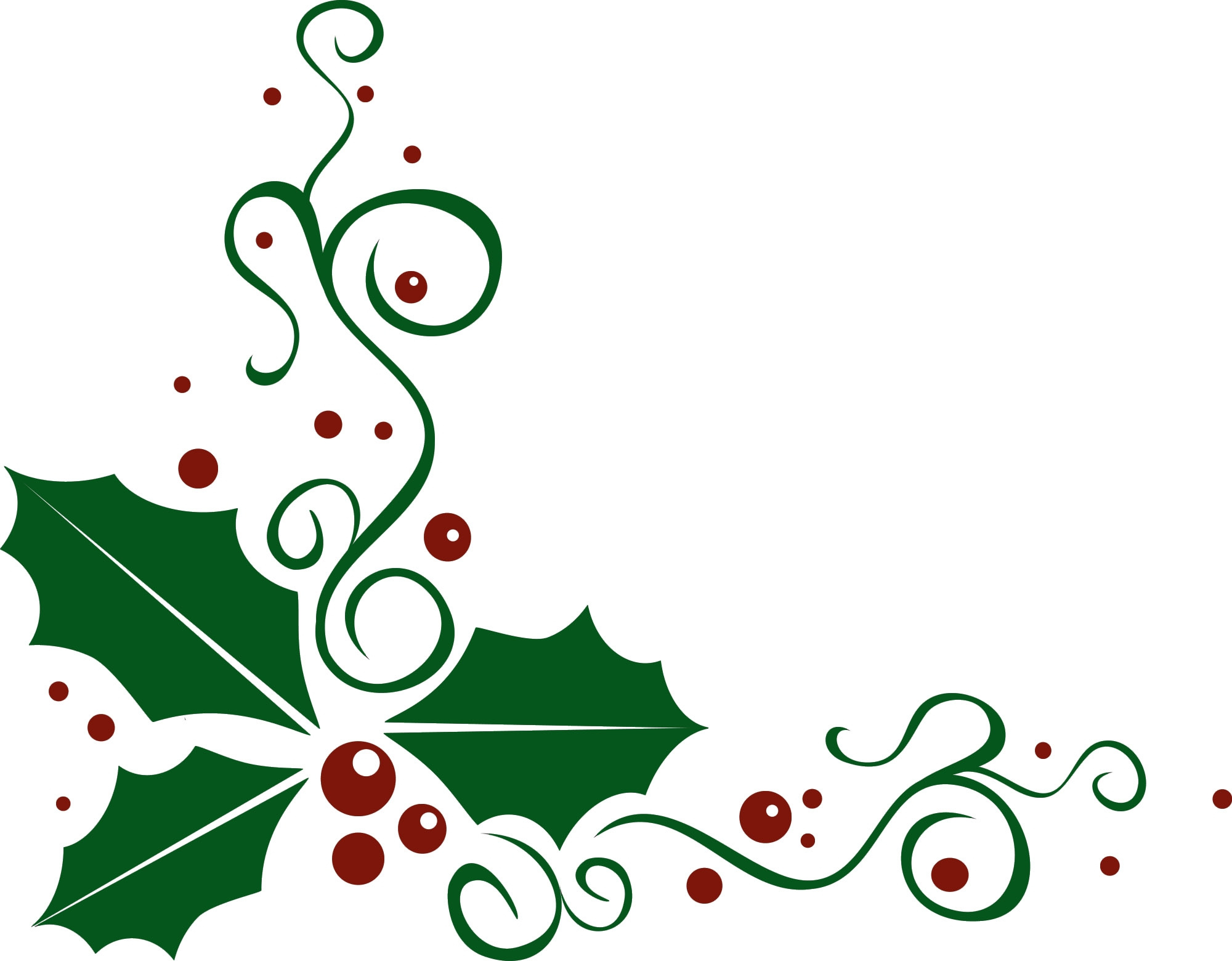 Christmas clipart corner. Free cliparts download clip clipart freeuse library