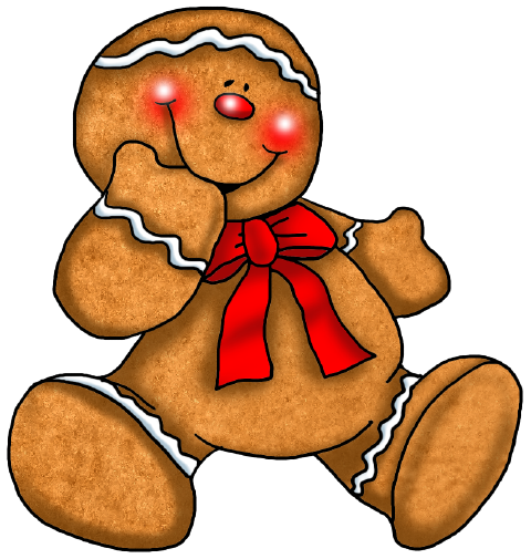 Christmas clipart cracker. Gingerbreadparade png gingerbread ornaments