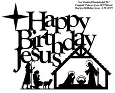 Christmas clipart happy birthday. Image result for jesus