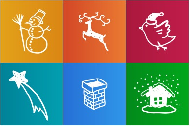 Christmas clipart icon. Iconset icons uiconstock