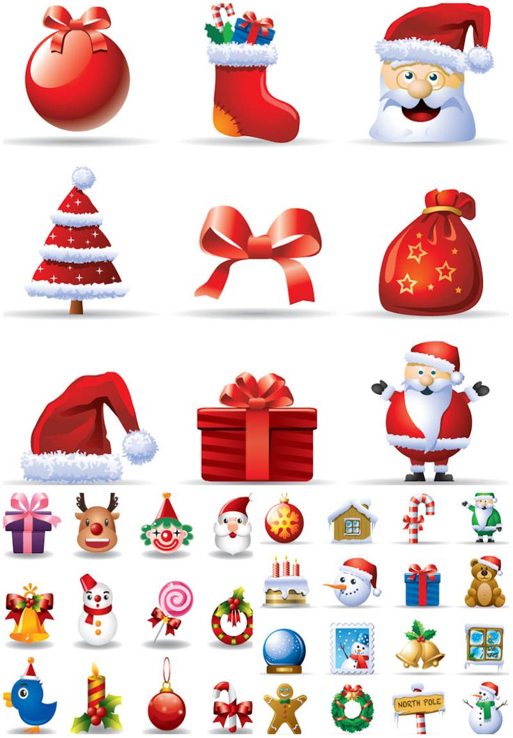 Christmas clipart icon. Best icons images