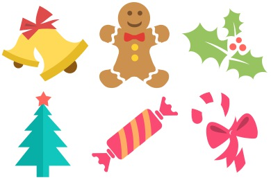 christmas clipart icon