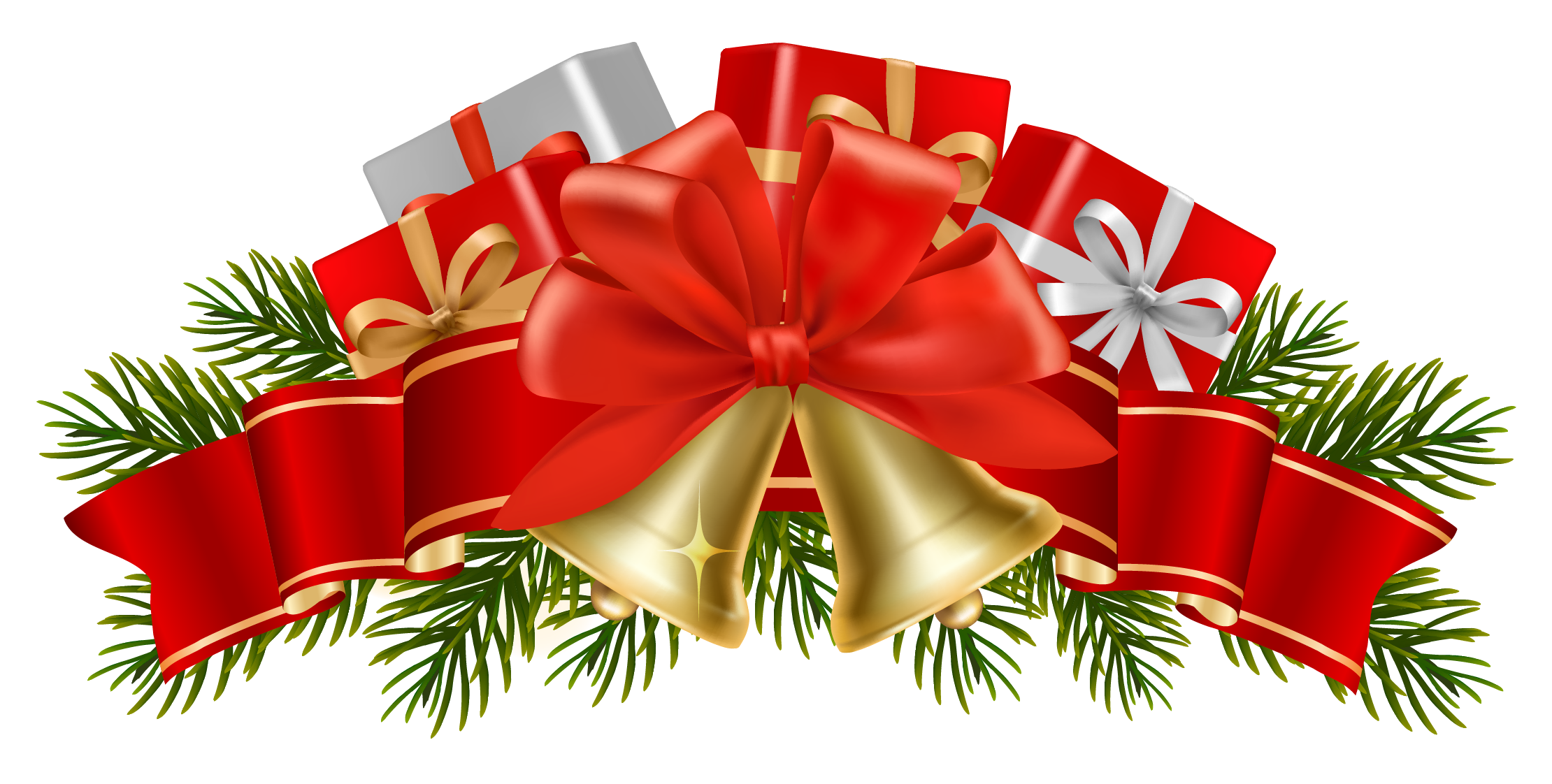 Christmas clipart transparent background. Picture library with png