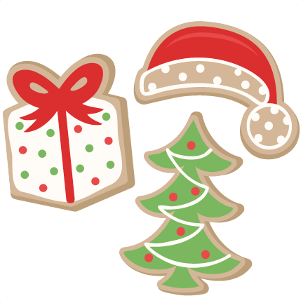 Cookie clipart decorated. Free christmas cliparts download
