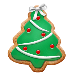 Cookie png christmas. Tree icon iconset petalart
