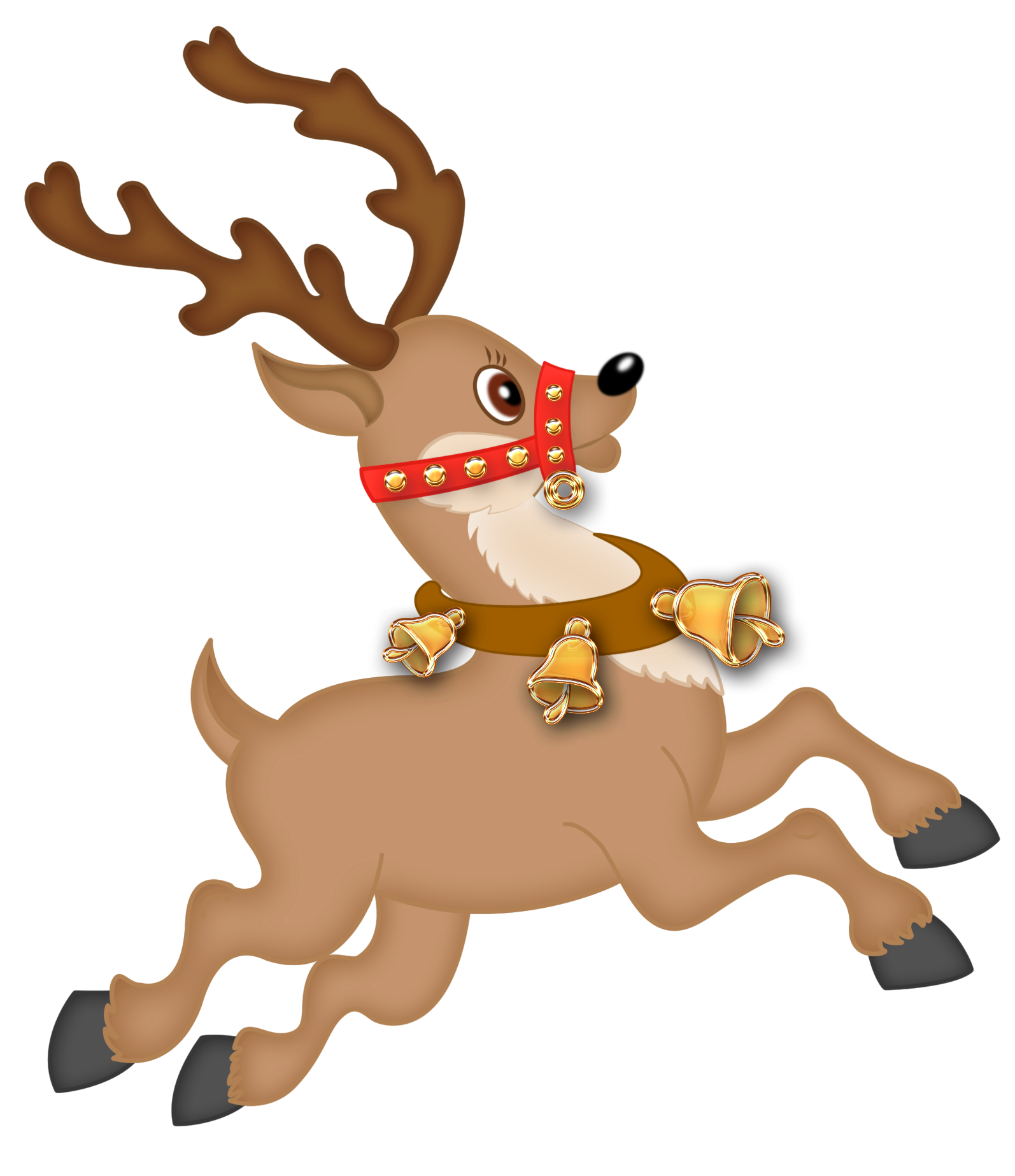 Christmas deer png. Clipart at getdrawings com