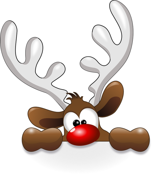 Christmas deer png. Free to use public