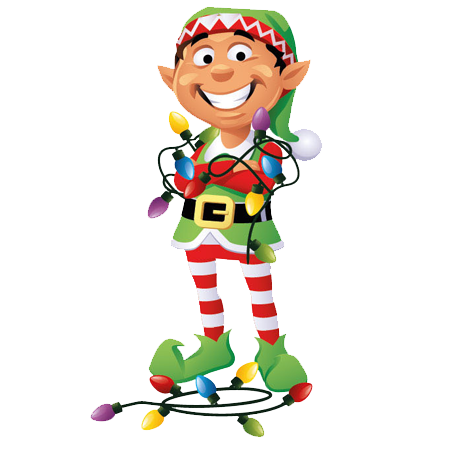 Christmas elf png. Transparent picture mart