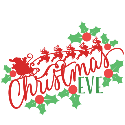 Christmas eve png. Collection of clipart