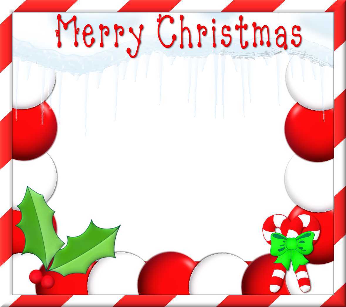 Christmas frames png. Collection of free
